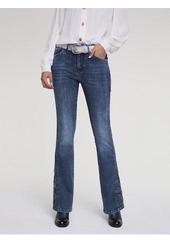 Jeans Aleria mit Stickerei kaufen