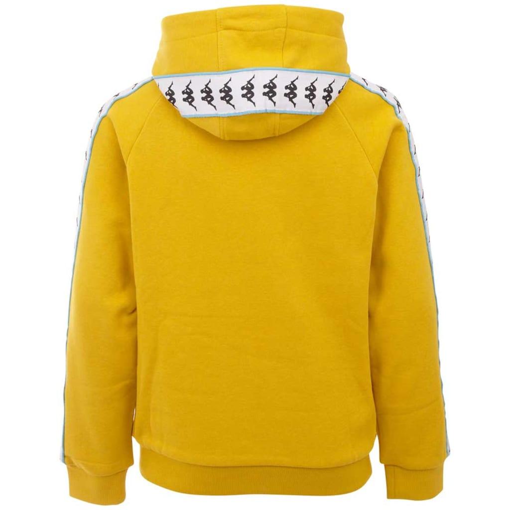 Kappa Kapuzensweatshirt »AUTHENTIC HARRO KIDS«, Logoband mit kontrastfarbenem Piping<br />
