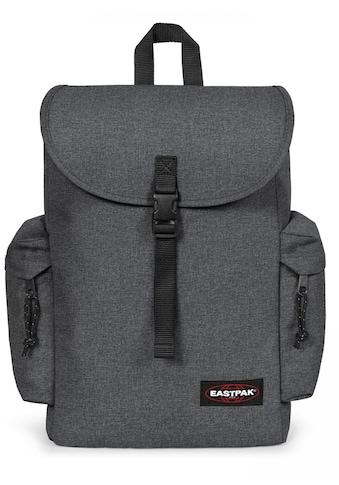 Eastpak Laptoprucksack »AUSTIN+, Black Denim«, enthält recyceltes Material (Global... kaufen
