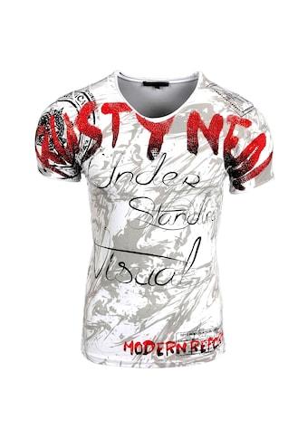Rusty Neal T-Shirt mit extravagantem Front-Druck kaufen