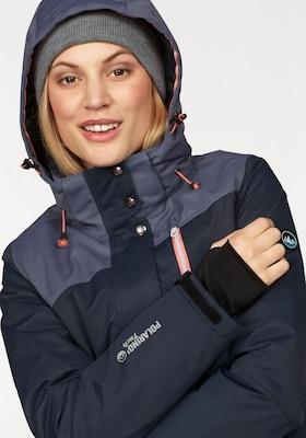 Blaue Skijacke für Damen