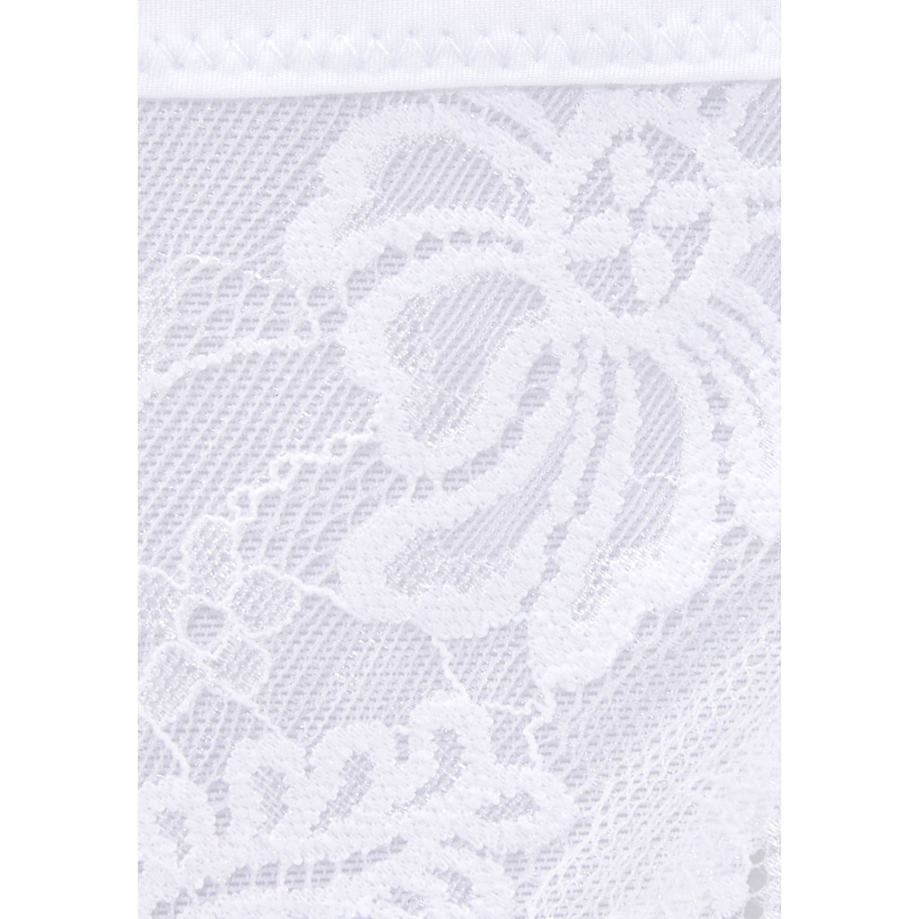 LASCANA String »Daisy«, aus recycled Spitze