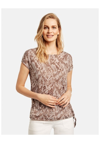 GERRY WEBER T - Shirt 1/2 Arm »Shirt mit Snakemuster« kaufen