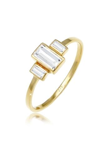 Elli Fingerring »Verlobungsring Topas Edelstein Zart 375 Gelbgold« kaufen