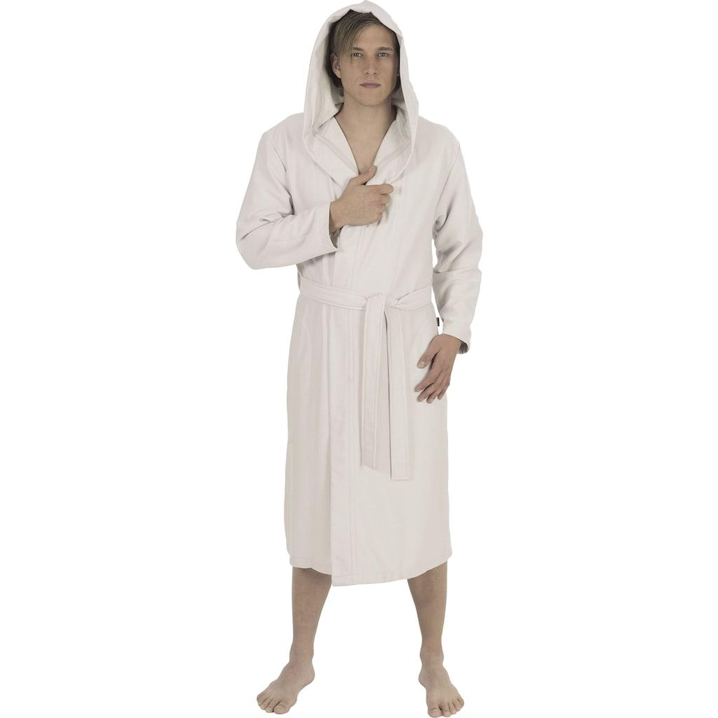 Wewo fashion Unisex-Bademantel »3901«, (1 St., mit Gürtel), mit Soft-Touch