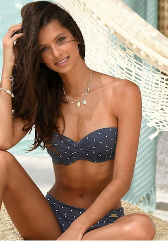 LASCANA Bügel - Bandeau - Bikini - Top »Sparkel« kaufen