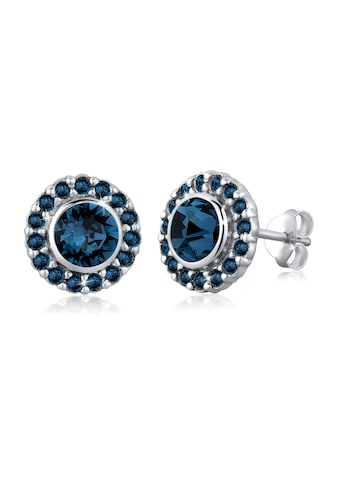 Elli Paar Ohrstecker »Glamour Kristalle 925 Silber« kaufen