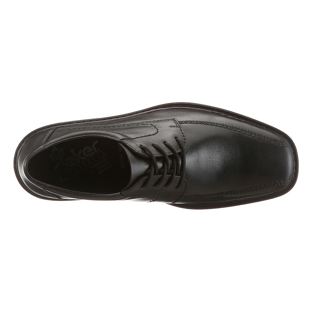 Rieker Schnürschuh, mit klassischer Ziernaht