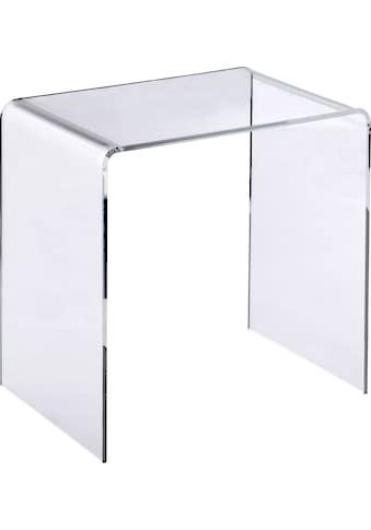 Places of Style Beistelltisch »Glarus«, Acrylglastisch in hochwertiger Verarbeitung,... kaufen
