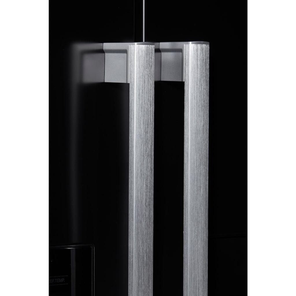 Hanseatic Side-by-Side »HSBS17990WEHF«, HSBS17990WEHFBK, 176,5 cm hoch, 89,7 cm breit