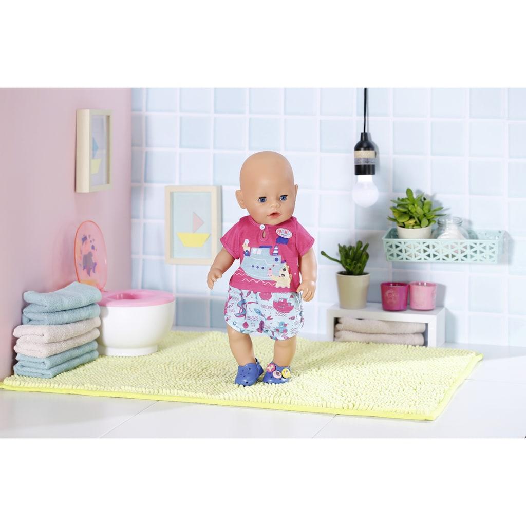 Baby Born Puppenkleidung »Bath Pyjamas & Clogs«