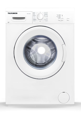 Telefunken Waschmaschine Frontlader (5 kg / A++ / weiss) »W - 01 - 50 - W« kaufen