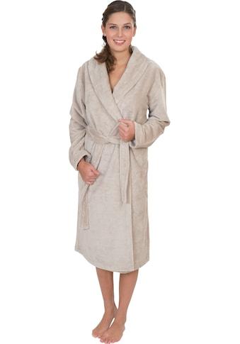 Wewo fashion Damenbademantel »4021«, mit Soft Touch kaufen