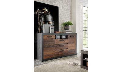 Home affaire Sideboard »BROOKLYN«, in dekorativer Rahmenoptik kaufen