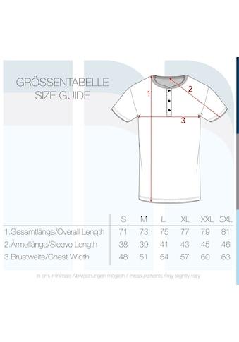 Indicode Layershirt »Tony«, Kurzarmshirt mit Knopfleiste kaufen