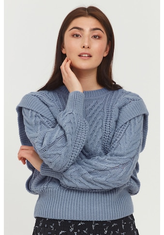 b.young Strickpullover »BYOTINKA CABLE JUMPER - 20810219«, Strickpullover mit... kaufen