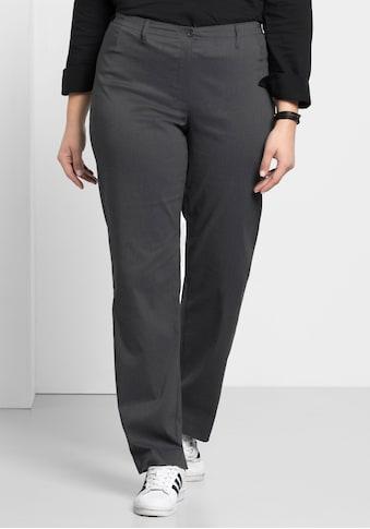Sheego Stretch-Hose, mit schmalem Bund kaufen