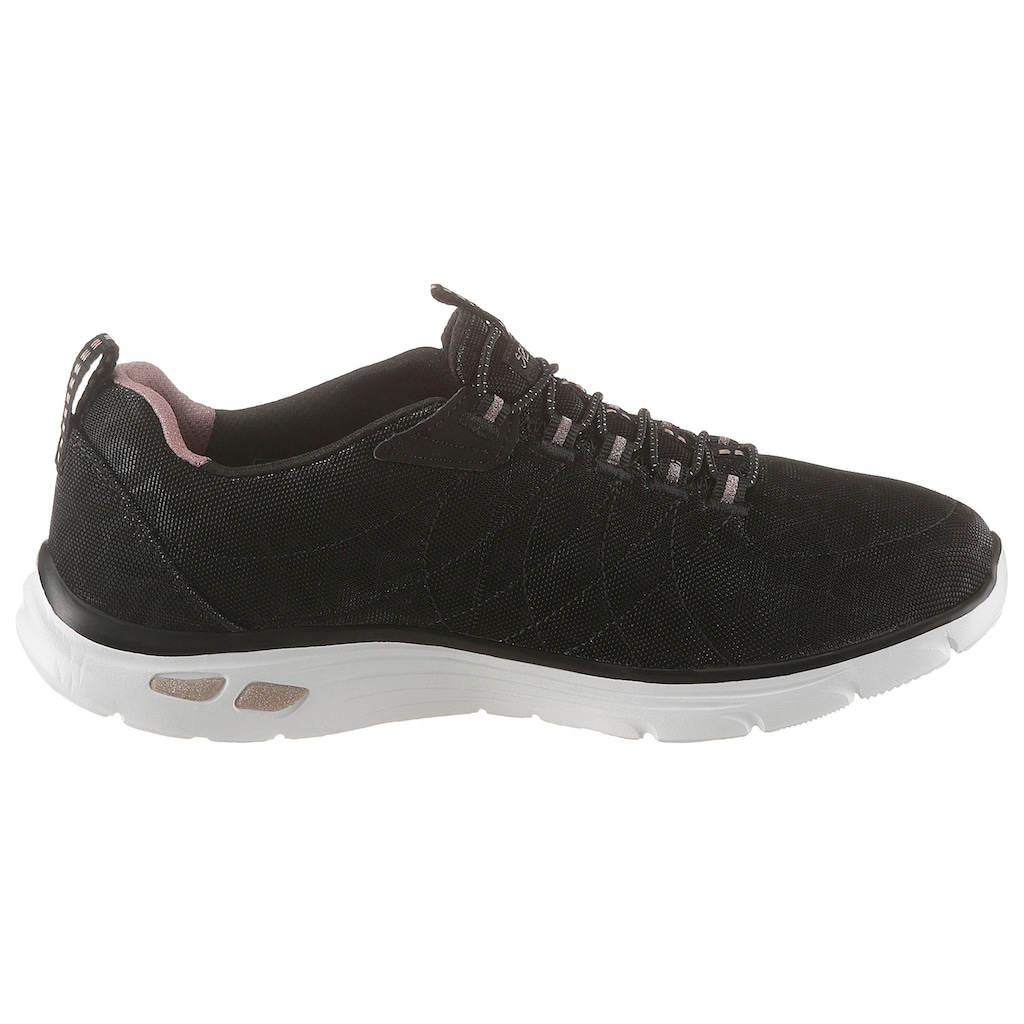 Skechers Slip-On Sneaker »Empire D´Lux - Spotted«, mit changierenden Leo-Muster