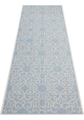 bougari Läufer »Nebo«, rechteckig, 4 mm Höhe, In- und Outdoor geeignet, Flachgewebe kaufen