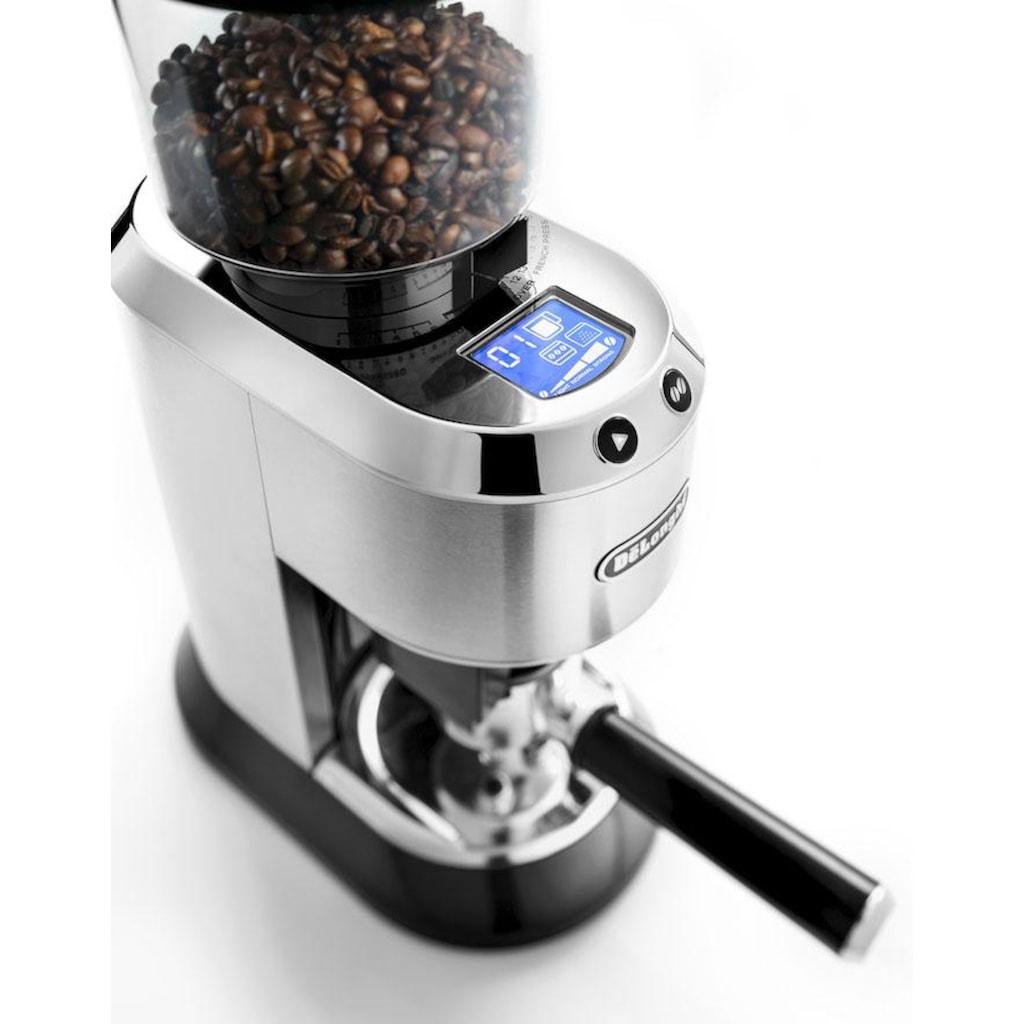 De'Longhi Kaffeemühle »Dedica KG521.M«, inkl. Siebträgeradapter