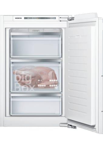 SIEMENS Einbaugefrierschrank »GI21VAFE0«, iQ500, 87,4 cm hoch, 55,8 cm breit kaufen