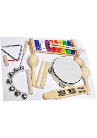 Clifton Percussion-Set »9 teiliges Kinder Percussion Set mit CD« kaufen
