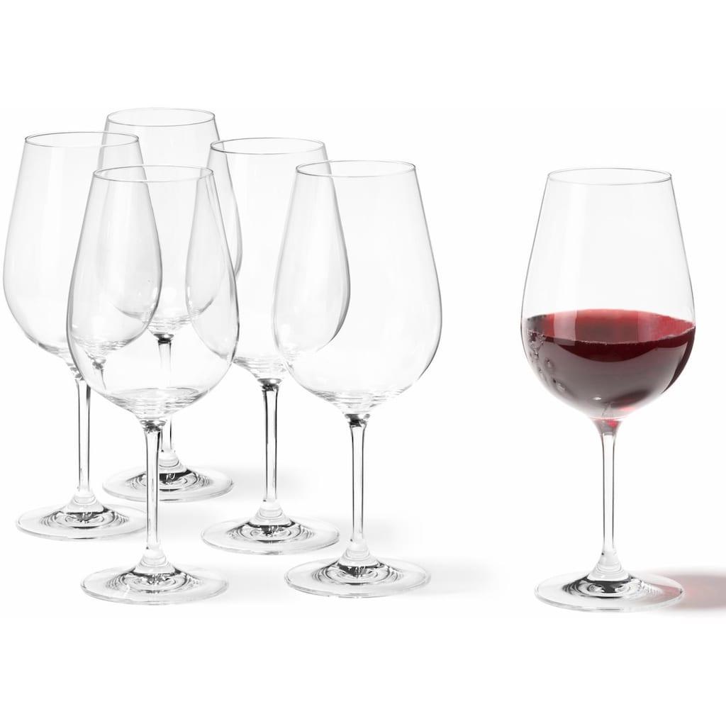 LEONARDO Rotweinglas »Tivoli«, (Set, 6 tlg.), 700 ml, 6-teilig