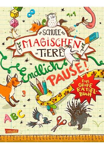 Buch »Die Schule der magischen Tiere: Endlich Pause! Das große Rätselbuch / Nikki... kaufen