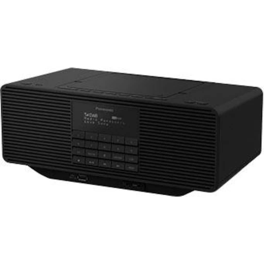 Panasonic Radio »RX-D70BTEG-K«, (Digitalradio (DAB+)-FM-Tuner), mit CD