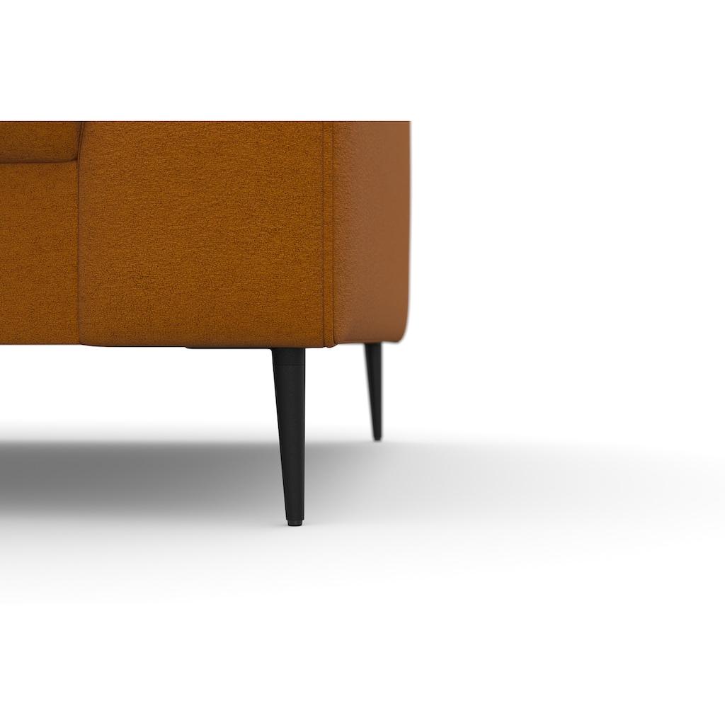 DOMO collection Ecksofa »Modica«, moderne Optik mit großzügiger Recamiere, frei im Raum stellbar