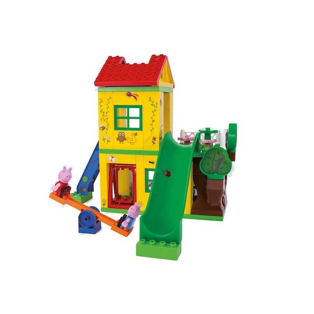 "BIG Konstruktions-Spielset ""BIG-Bloxx Peppa Wutz Play House"", Kunststoff, (75-tlg.)"