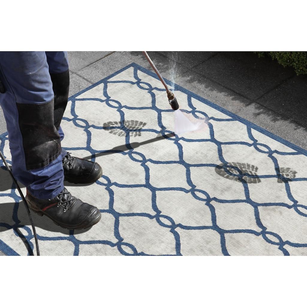 bougari Läufer »Rimini«, rechteckig, 5 mm Höhe, In- und Outdoor geeignet, Wendeteppich
