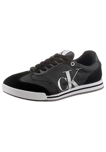 Calvin Klein Sneaker, im Materialmix kaufen
