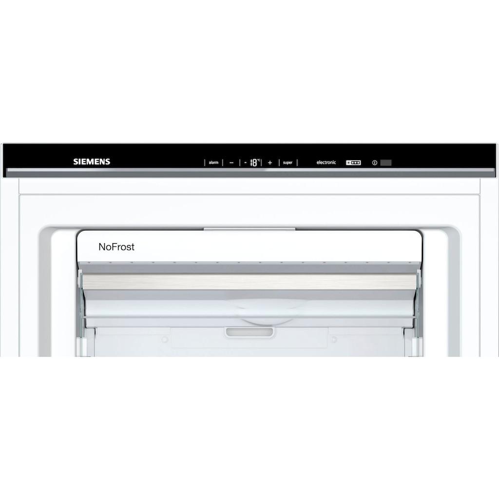 SIEMENS Gefrierschrank »GS54NUWDV«, 176 cm hoch, 70 cm breit