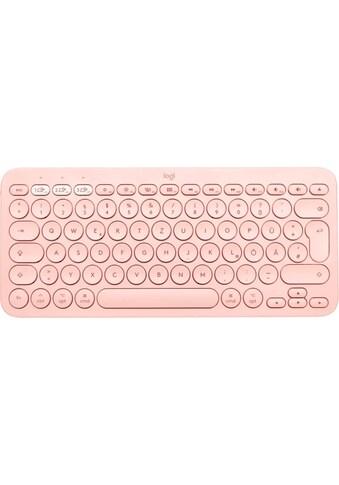 Logitech Apple-Tastatur »K380 Rose«, (Easy-Switch-iOS Sondertasten) kaufen