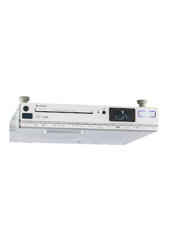 Auna Küchen Unterbau Radio CD MP3 UKW RDS USB AUX Uhr Fernbedienung »KCD 20« kaufen