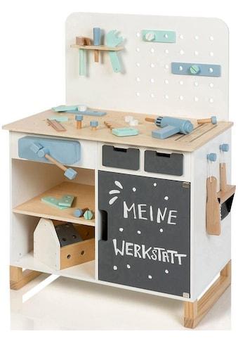 """MUSTERKIND® Werkbank """"Fagus, weiß/natur"""" kaufen"""