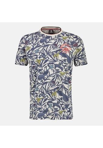 LERROS T-Shirt, mit sommerlich, floralem Alloverprint kaufen