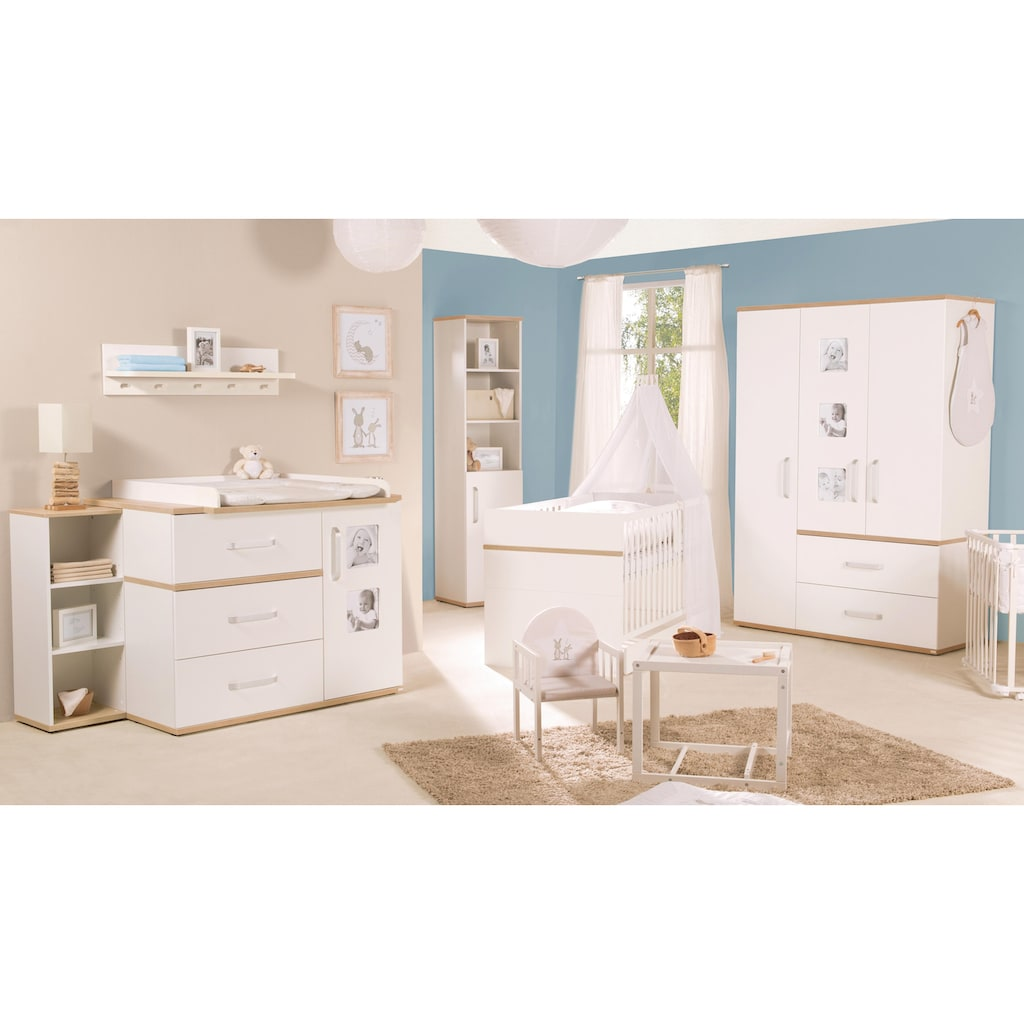 roba® Kleiderschrank »Pia, 3-türig«, mit integrierten Bilderrahmen an den Türen