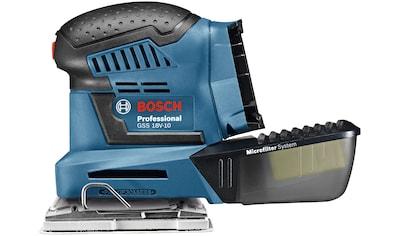 Bosch Professional Schwingschleifer »GSS 18V-10«, 18 V, ohne Akku und Ladegerät kaufen