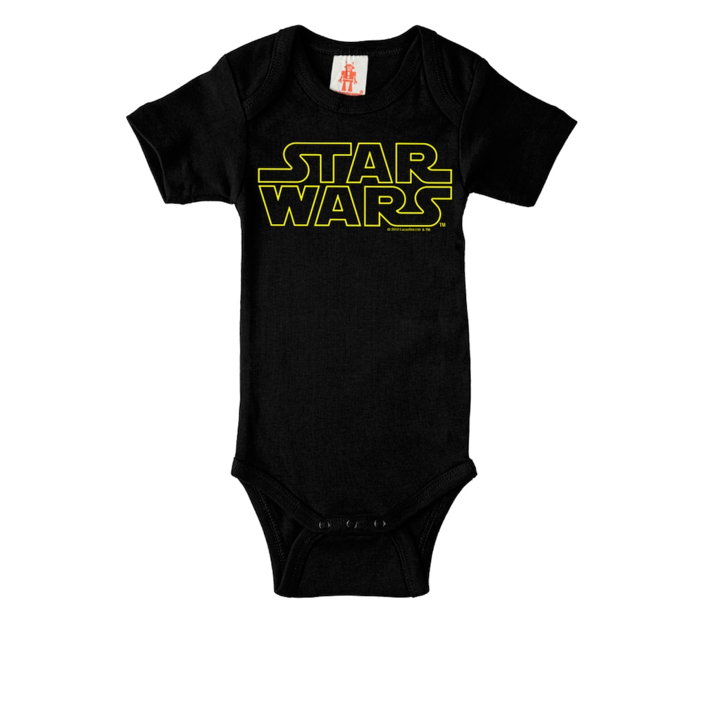 LOGOSHIRT Baby-Body mit Star-Wars-Frontdruck