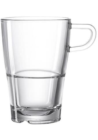 """LEONARDO Latte - Macchiato - Glas """"SENSO"""" (6 - tlg.) kaufen"""