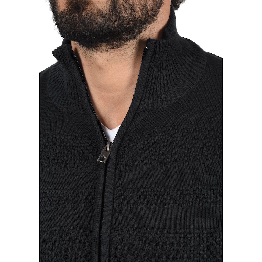 Solid Cardigan »Barama«, Strickjacke aus Feinstrick