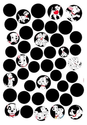 KOMAR Wandtattoo »101 Dalmatiner Dots«, selbsthaftend, rückstandslos abziehbar kaufen