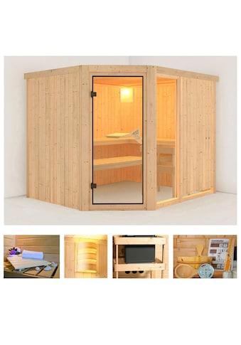 KONIFERA Sauna »Antero 3«, 231x196x198 cm, ohne Ofen kaufen