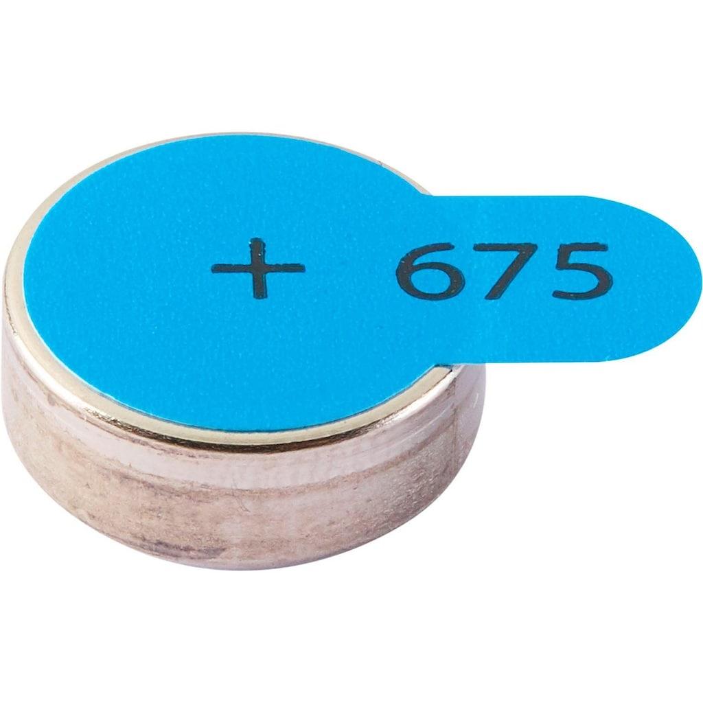 Intenso Batterie »Zink-Luft A675«, (6 St.), Hörgeräte Batterie