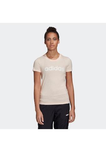 adidas Performance T-Shirt »ESSENTIALS LINEAR« kaufen