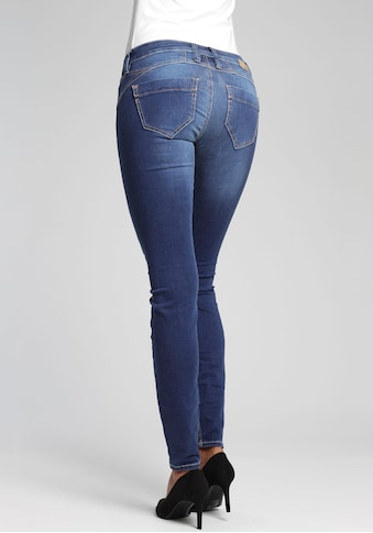 GANG Skinny-fit-Jeans »Nena«, mit Used-Effekten kaufen