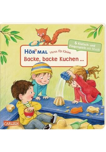 Buch »Hör mal (Soundbuch): Verse für Kleine: Backe, backe Kuchen ... - ab 18 Monaten /... kaufen