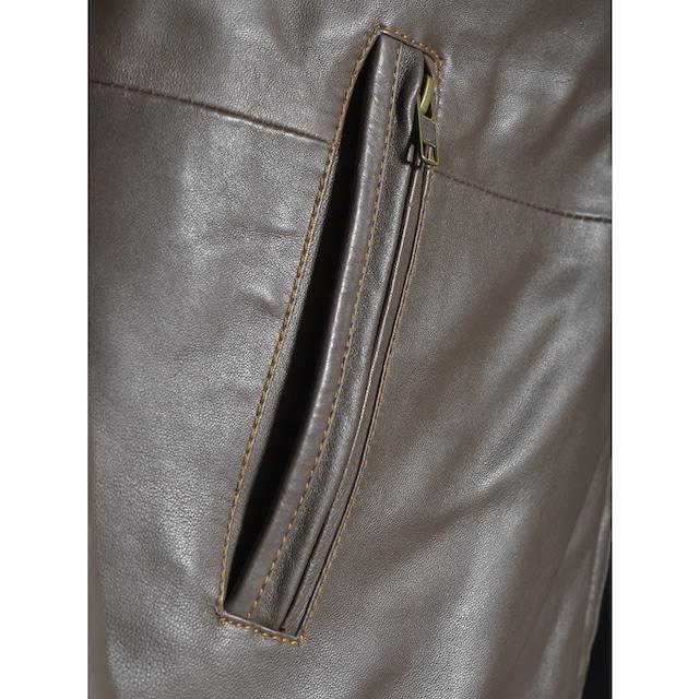 Maze Lederjacke mit abnehmbarem Einsatz »Martin-LN«